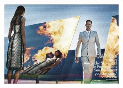 Alexander Skarsgård for Calvin Klein