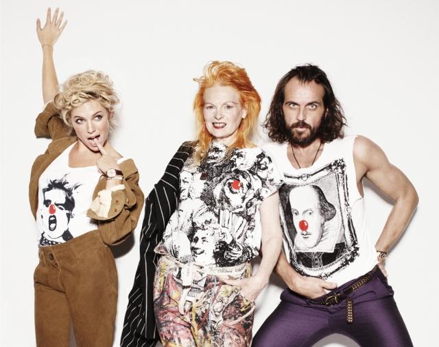 Sienna Miller, Vivienne Westwood and Andreas Kronthaler | www.viviennewestwood.co.uk