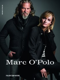 Jeff Bridges & Amber Valletta for Marc O'Polo